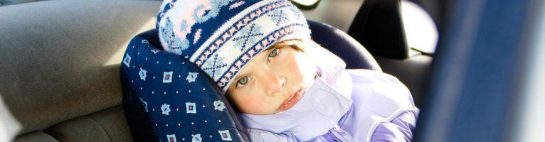 E' pericoloso far dormire i bambini sul seggiolino auto?